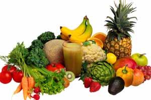 curare cellulite con frutta e verdura