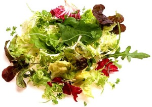 verdure fresche prima del pasto